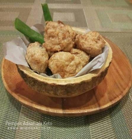 Resep Pempek Adaan Ala Keto Oleh Erna Ummu Aisyah Resep Resep Keto Resep Makanan Makanan Dan Minuman