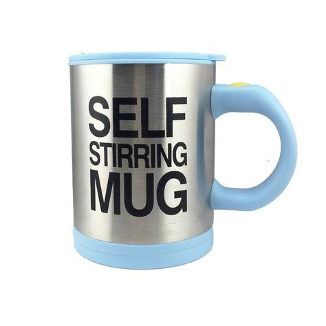Make your hectic mornings run a little smoother by preparing your coffee with this self stirring mug. At the push of a button, this unique mug automatically begins to mix the contents of your mug - perfect for lazy tea and coffee drinkers everywhere. No need for spoons anymore Stirs your favorite beverage with the push of a button. Little whirring disc at the bottom spins and froths Easily blends in cream, sugar or honey without using a spoon Great for coffee, tea, hot chocolate and more Snap-lo