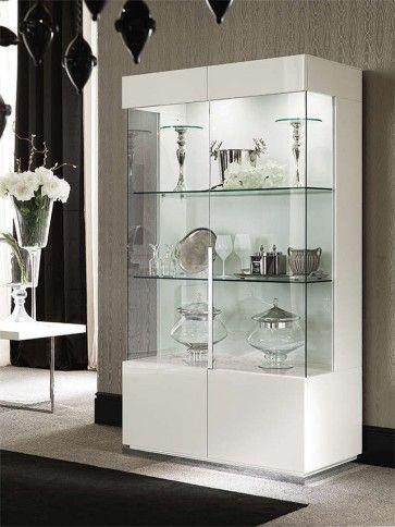 Canova 2 Door Curio By Alf Da Fre Crockery Cabinet Design Crockery Unit Design Cupboard Design