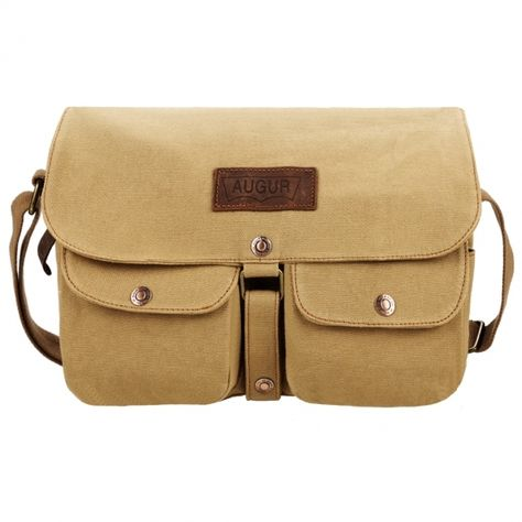 Vintage Style Unisex Canvas Messenger Travel School Casual Shoulder Bag