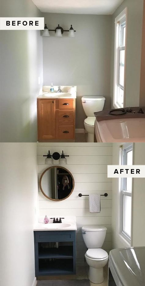 Easy Weekend Project: DIY Painted Cabinets – The Everygirl – Diy Bathroom Remodel İdeas Easy Home Decor, Cheap Home Decor, Diy Home Projects Easy, Home Decor Ideas, Diy House Projects, Home Design, Bath Design, Home Renovation Loan, Small House Renovation