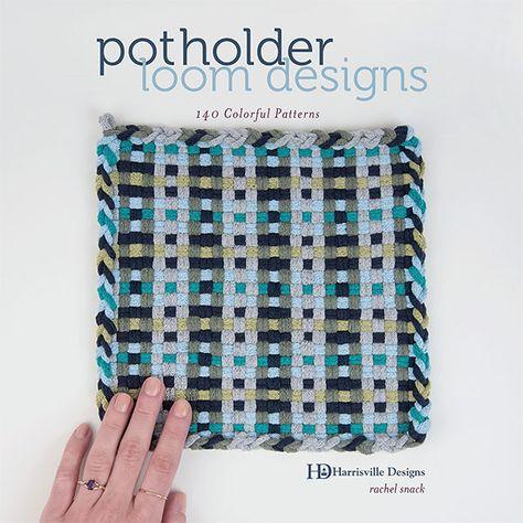 Potholder Loom Designs Craft Book