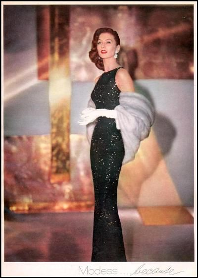 Modess and Suzy Parker