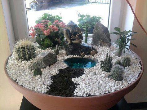 Mini Jardin Zen Www Facebook Com Mas Jardineria En Macetas