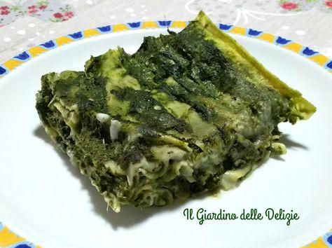 Le lasagnette crema di carciofi e spinaci senza panna e burro sono un ottimo veloce primo piatto cucinato al microonde, con verdure e formaggio