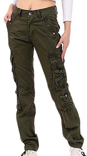 Pandapang Mens Combat Military Outdoor Straight Leg Camo Rugged Cargo Pants