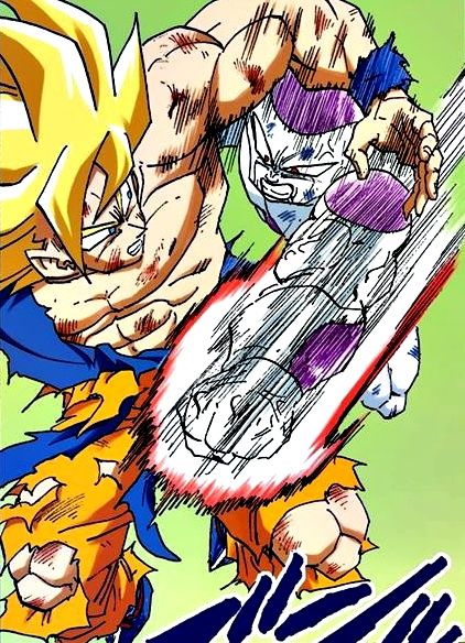 Goku Vs Frieza Dragon Ball Super Manga Dragon Ball Dragon Ball Z