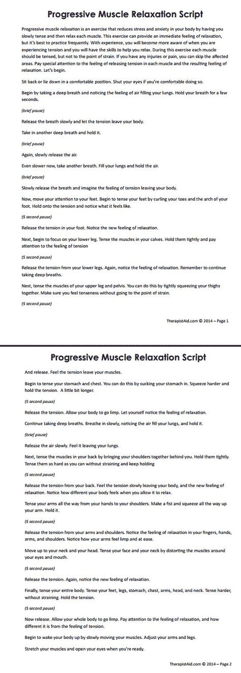 progressive muscle relaxation cognitive behavioral therapy essay Chapter 4 discusses the third treatment session on progressive muscle relaxation a cognitive-behavioral therapy approach progressive muscle relaxation and.