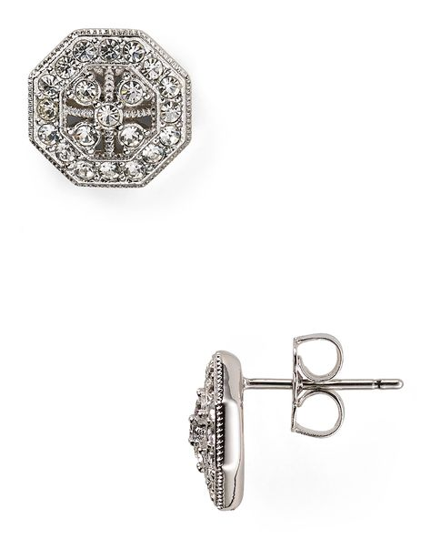 b6813acff Nadri Silver Stud Earrings | Bloomingdale's | bling bling | Pinterest