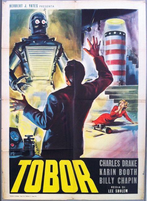 Tobor - 39x55 / Italy, C. 1954