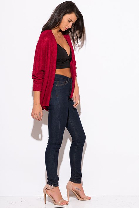 Best Fashion - Cheap Red Sweaters