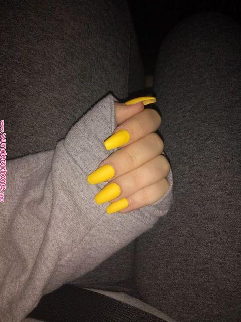 fmoig : @keriaah_ ???? | Nailsssss✨ in 2019 | Nails, Yellow nails, Cute acrylic nails      fmoig : @keriaah_ ???? | Nailsssss✨ in 2019 | Nails, Yellow nails, Cute acrylic nails