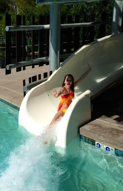 Great Pools And Water Slide At Hyatt Regency Gainey Ranch In Resort Scottsdale See My Review Of The Two More Phoenix Area Hotels On