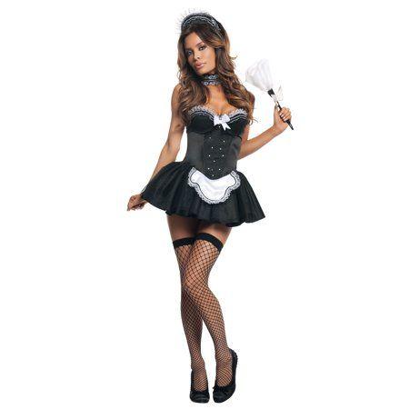 Details about  /Sexy Women Maid Uniform Dress Cosplay Japanese Apron Shawl Bra Set Nightwear