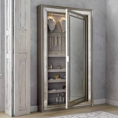 Loren Jewelry Storage Mirror Frontgate Mirror Jewelry Storage Storage Mirror Jewelry Storage Cabinet