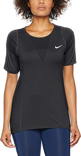 Best Seller Nike Womens Dri Fit Zonal Cooling Shirts Tops Black