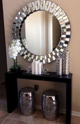 40 Modern Wall Mirror Design Ideas For Home Wall Decor 2019 Living Room On A Budget Apartment Decor Small Living Rooms