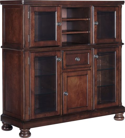 Ashley Porter D697 76 Millennium Dining Room Server With Storage