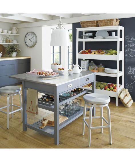 Spin Swivel Backless Counter Stool Grey Kitchen Island Backless