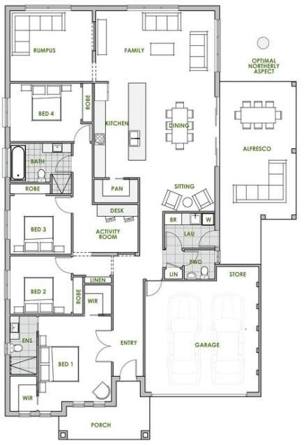 New House Eco Friendly Floor Plans 21 Ideas House Plans