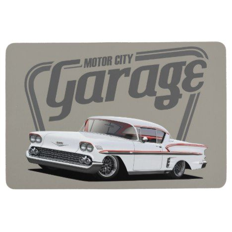 Motor City Impala Floor Mat Zazzle Com With Images Motor