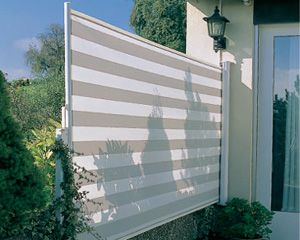 Side Shades In Central PA Are Also Know As Horizontal Awning, Which Offer  Shade From The Side Or For Privacy. Have Us Install Your Side Shade Today.