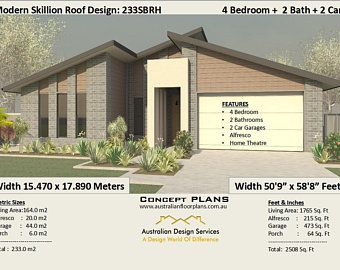 370m2 6 Bedflat Home With Granny Flat Design 6 Bed Home Etsy In 2020 4 Bedroom House Plans Bedroom House Plans Australian House Plans
