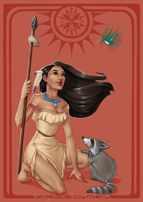 Pocahontas by Kinky-chichi on DeviantArt
