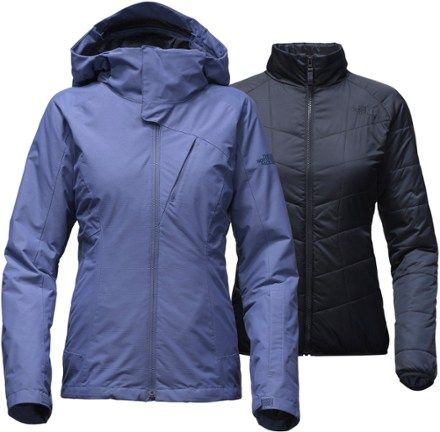 b4c47dafd0 The North Face Women's Cheakamus Triclimate 3-in-1 Jacket Coastal Fjord Blue  XS
