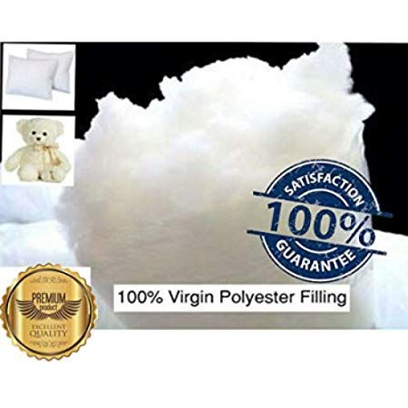 Hollowfibre Filling Stuffing Toy Teddy Bear Polyester Cushion Pad Pillow Bed New
