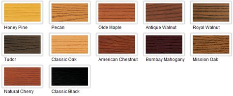 Minwax polyshades color chart for the home pinterest minwax