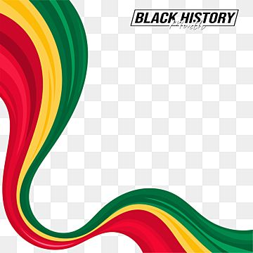 Abstract Black History Month Vector Design With Waving Ribbon Ornament African Black History Png And Vector With Transparent Background For Free Download Di 2021 Desain Vektor Sejarah Abstrak