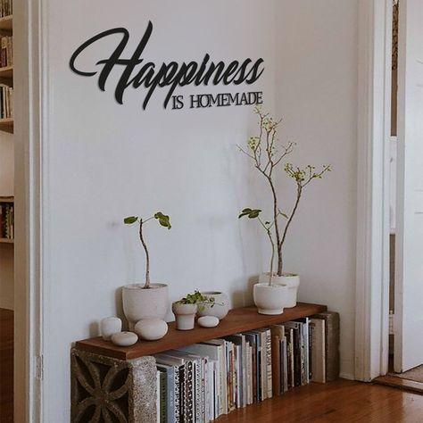 Happiness Is Homemade - Metal Wall Art/Decor