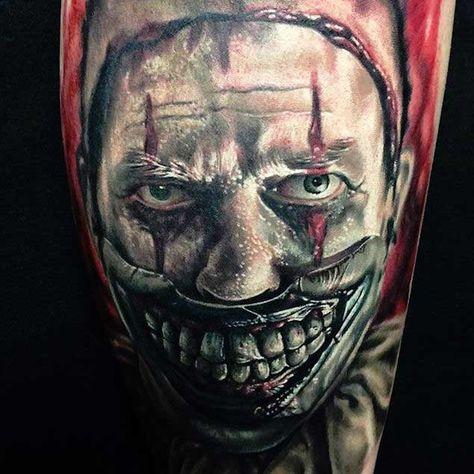 2fa5c833a Twisty the Clown. Twisty the Clown. Подробнее... 20 Horrifying Clown Tattoos  That Will Haunt Your Dreams