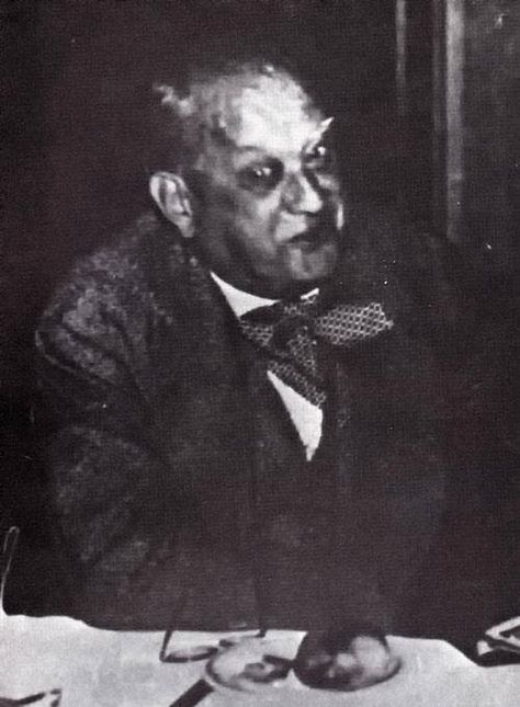 Aleister Crowley ? the spirit of this guy appeared to my dad in a sleeping paralysis experience … you better believe dear friend.