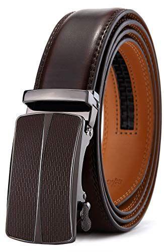 Men's Belt,Bulliant Leather Ratchet Belt for Men 1 38