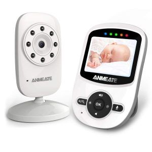 Anmeate Video Baby Monitor 960ft Transmission Range Digital Camera Video Monitor Baby Baby Monitor Baby Camera Monitor
