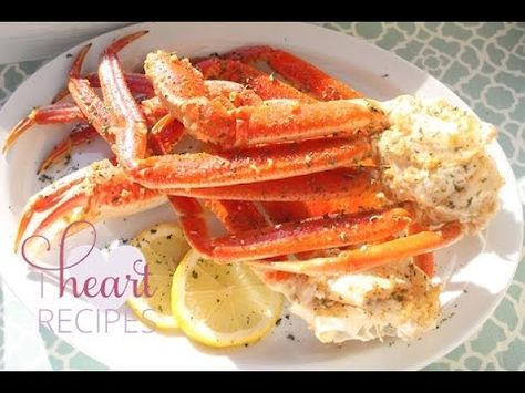 How to cook Snow Crab Leg in the oven - Easy Seafood Recipe - I Heart ...