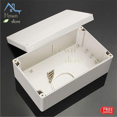 Electrical Box Project Case Enclosure Diy Electronic Wire Dustproof Waterproof Diy Electronics Enclosure Electronics