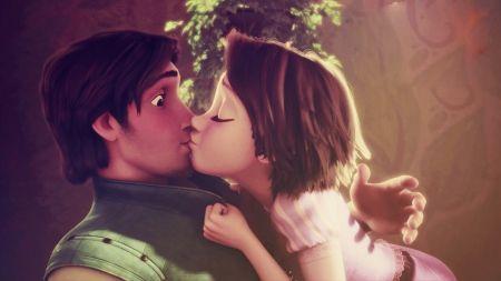 Rapunzel And Flynn - Desktop Nexus Wallpapers