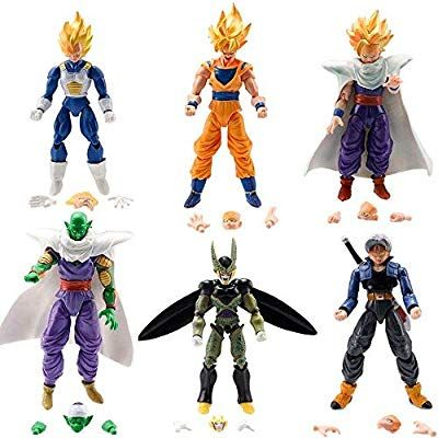 ae74119ec06e1 Amazon.com: BigZ Dragon Ball Z Super Dragon Stars Toys Goku Action ...