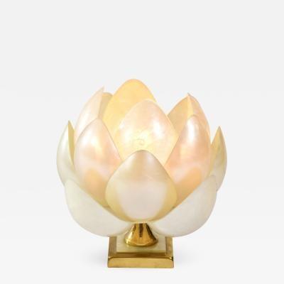 1950s Full Bloom Lotus Table Lamp By Blooming Lotus Lamp Bloom
