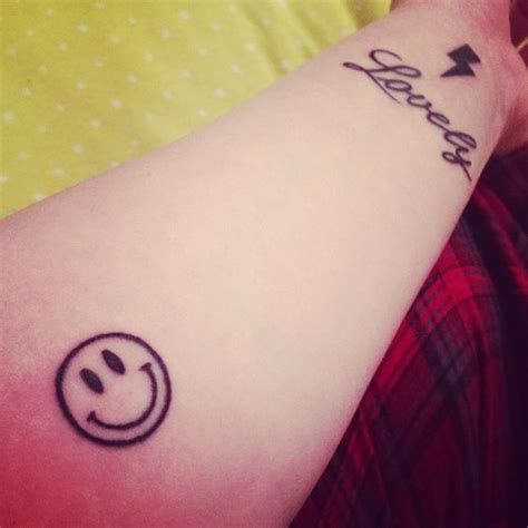 Finger Touching Tattoo Meaning Tattoideas Smiley Face Tattoo Tattoos Hand Tattoos