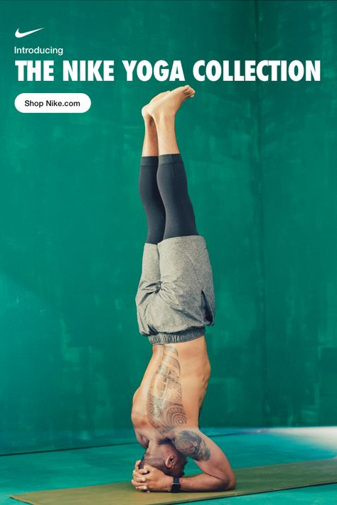 Introducing the Nike Yoga Collection. Our first collection specifically designed to elevate your practice is now on Nike.com