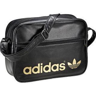 Adidas Schultertasche Airline Bag, schwarzgold im Karstadt