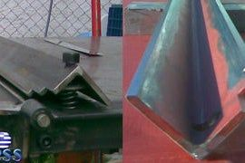 Diy Sheet Metal Bender Brake Sheet Metal Bender Metal Bender Sheet Metal