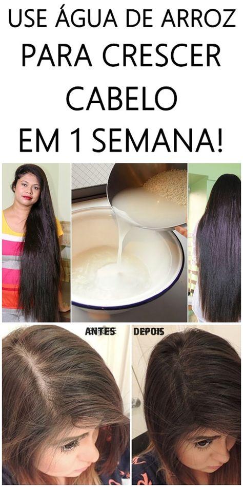 Use Agua De Arroz Para Crescer Cabelo Em 1 Semana Com Imagens