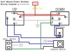 Half Manual Power Window Wiring Diagram Electrical Circuit Diagram Electrical Diagram Car Mechanic