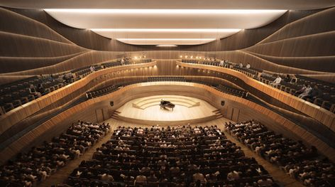 190 Ide Theater Teater Zaha Hadid Architects Gedung Opera