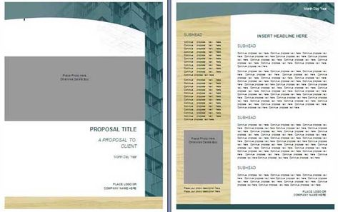 Bid Proposal Template The template can guide one in the - bid proposal template word